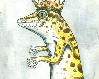 The Leopard Gecko King