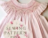 The Charming Bishop Dress - Sewing PDF Pattern - How to Make - Upbringing Size 1 year -
