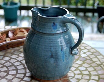 Half Gallon Pitcher in Slate Blue - Made to Order