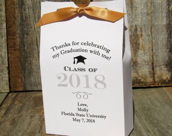 Graduation Favors - Graduation Party Favors - Graduation Favor Boxes - High School Graduation - College Graduation - Candy Boxes