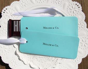 Wedding Favors - Favors For Tiffany - Aqua Blue Favors - Sweet 16 Favors -  Bridal Shower Favors - Aqua Wedding Favors - Aqua Candy Wraps