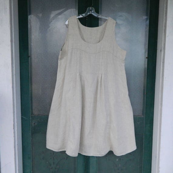 FLAX Designs Underflax 2003 Sleeveless Nightgown -3G/3X- Available in Various Colors