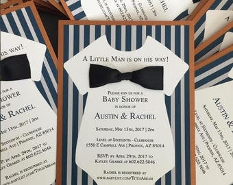 Bow Tie Baby Shower | Etsy