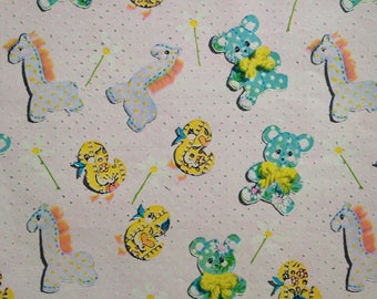 Calico Baby Shower Gift Wrap by Tie Tie