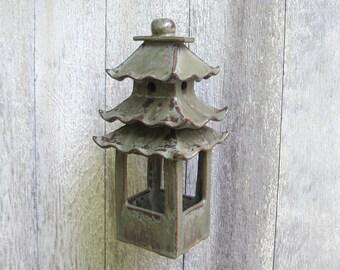 Stoneware Bird Feeder ceramic hand built home and living outdoor and garden birding art