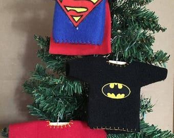 Superhero Inspired Shirt Ornament