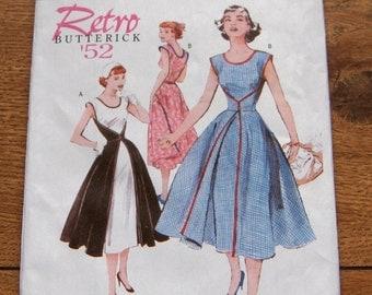 2006 retro 1952  butterick pattern 4790 misses wrap dress sz 8-10-12-14 uncut