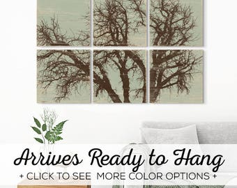 Nature Inspired - Rustic Tree Wall Art - Tree Branch - Rustic Tree Art - Tree Branch Wall Art - Rustic Home Decor - Olive Branch Art