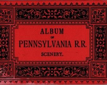 1883 Album of Pennsylvania Railroad Scenery