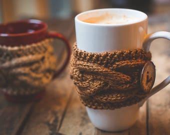 Coffee Cozy, Coffee Sleeve, Knit Cup Cozy, Coffee Mug Cozy, Coffee Cup Sleeves, Tea Cozy, Coffee Cup Cozy, Coffee Gifts Hygge Decor Tea Cosy