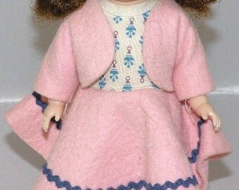 1950s Ginny? Walker Doll Dressed in a Sweet Outfit