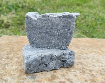 Charcoal Acne & Eczema Homemade Natural Lye Soap