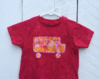 Kids School Bus Shirt, Toddler School Bus Shirt, Toddler Car Shirt, Boys School Bus Shirt, Girls School Bus Shirt, Kids Truck Shirt (3T)