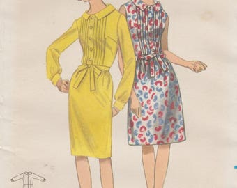 Butterick 3822 / Vintage Sewing Pattern / Dress / Size 18 Bust 38