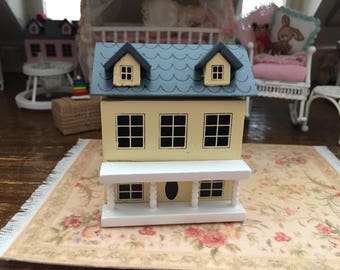 Miniature Dollhouse, Mini Doll Dollhouse, Play Dollhouse, Dollhouse Miniature, 1:12 Scale, Mini Dollhouse, Dollhouse Decor Accessory