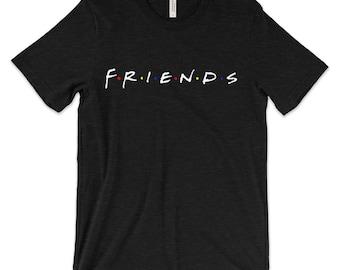 Friends 90s TV shows-Men's / Unisex adult T-SHIRTS-013M
