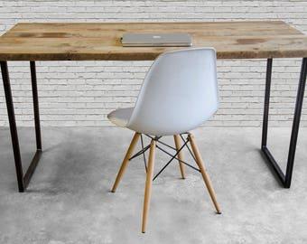 Urban Wood Desk, Barnwood Desk, Farmhouse Desk.
