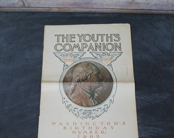 1902 The Youth's Companion Newspaper