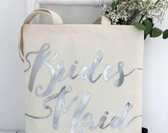 Bridesmaid | Bag | Silver Bridesmaid Bag | Bridesmaid Accessories | Bridesmaid Bag | Be My Bridesmaid