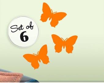 Butterfly Decals, Butterfly Decor Vinyl Wall Stickers, Butterfly Wall Decals, Butterfly Bedroom Decals, Wall Decal Butterflies