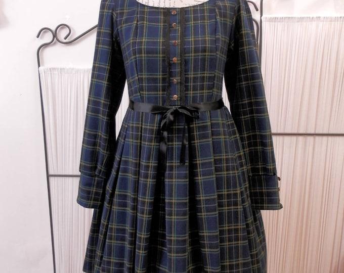 Tartan Gothic Lolita Dress