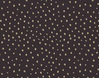 JUDITH'S FANCY Zach Black Jennifer Paganelli, Cottage Chic, Shabby Chic, Boho Chic Nursery, Black Dot Fabric, Cotton Quilt Fabric