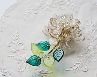 The New Year Special Pure Elegance Peony Brooch