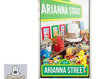 Sesame Street Custom SnapChat Filter!