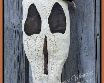Primitive Halloween Pattern, Primitive Skeleton pattern, skeleton pattern, halloween skull, prim halloween, skull, spooky skull, pattern
