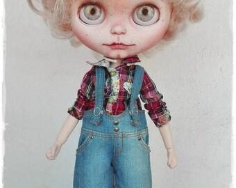 BOWIE Blythe boy custom doll by Antique Shop Dolls
