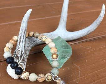 Gemstone Bracelet Picture Jasper