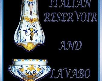 Italian Reservoir and Lavabo