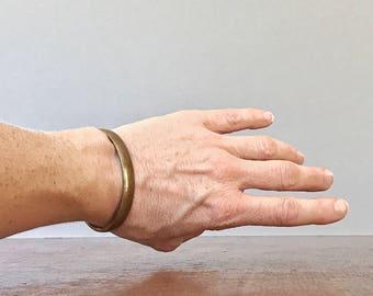 Vintage Sausalito Craftworks Bronze Bracelet - California Modernist Jewelry