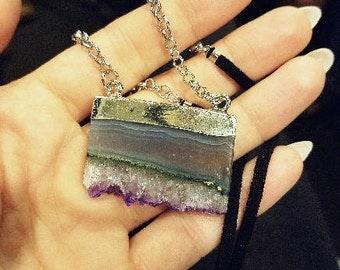 SALE: Sorceress Amethyst Crystal Necklace