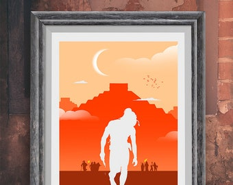 Apocalypto Minimalist Movie Poster - Alternative Poster - Poster Art Print -  TV Poster Wall Art - Man cave - Cinema Room - Geek Poster