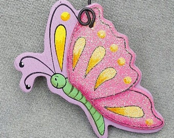 Butterfly Ornament/Party Favor/Gift Tag -- OB8