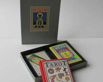 The Elemental Tarot *Caroline Smith* 1988 Doubleday Edition Rare Out of Print