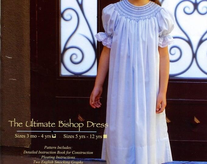 Smocked Dress Pattern / Smocked Bishop Pattern /Ultimate Bishop Pattern / Classic Bishop Pattern /  by Ellen McCarn