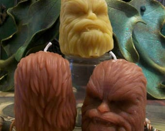 Beeswax Wookiee Chewbacca Inspired Candle Choice Of Color