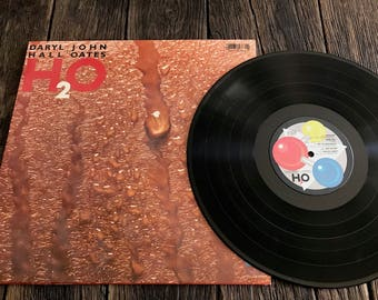 Hall And Oats Record Album - Vintage Daryl Hall And John Oats Record - Hall And Oats H2O LP - AFL1-4383 - H2O LP - Hall And Oats LP