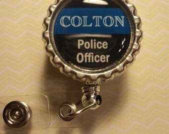 Personalized Police Officer badge