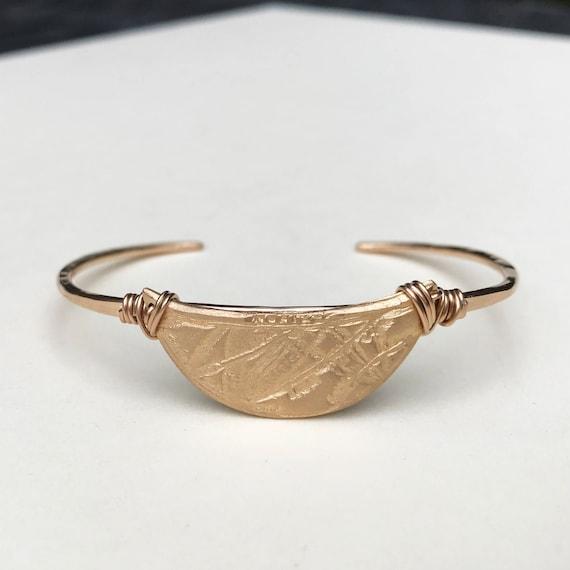 Horizon Bronze Cuff Bracelet