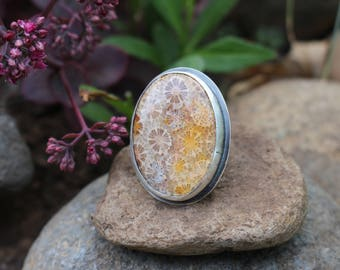 Fossilized Coral Focus Ring