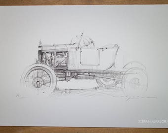 Model T Ford - Limited edition Print