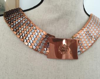 REDUCED: Vintage serpentine variegated belt
