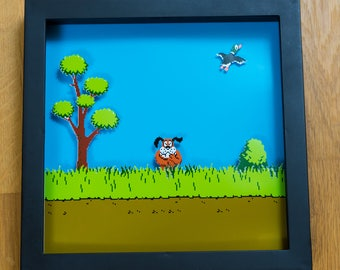 Duck Hunt - NES Shadowbox