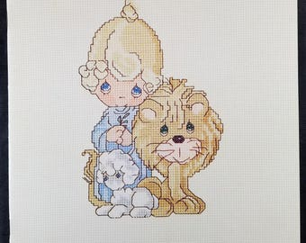 Precious Moments Counted Cross Stitch Patterns Peace on Earth