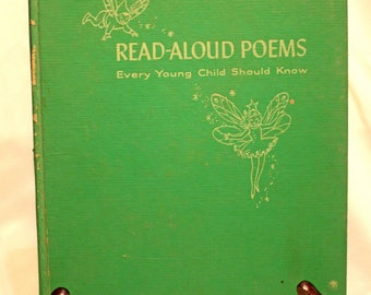 RARE BOOK! Read Aloud Poems Every Young Child Should Know Compiled by Marjorie Barrows Illustrated by Marjorie Cooper Childrens Mid Century