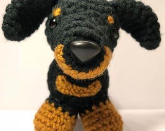 PATTERN - Dachshund Crochet