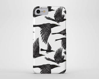 Ravens Phone Case - iPhone and Samsung Galaxy Cases - Raven, Bird, Crow, (All Sizes)